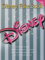 THE DISNEY FAKE BOOK 2nd Edition