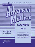 Rubank Advanced Method - Volume 2 (Saxophone) (04470380) ISBN 1423444337