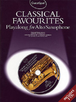 Guest Spot: Classical Favourites Playalong for Alto Saxophone