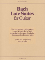 Bach J. S. , Lute Suites For Guitar