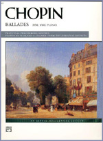 Chopin Ballades For The Piano, שופן בלדות