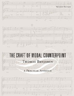 The Craft of Modal Counterpoint, Thomas Benjamin