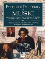 Essential Dictionary of Music (Pocket-Size Book)