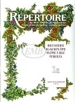 Repertoire for the Recorder - Volume 1A (HL 50510584)