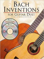 Bach Inventions for Guitar Duet (HL 14002913)