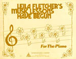 Music Lessons Have Begun By Leila Fletcher (HL14022343)